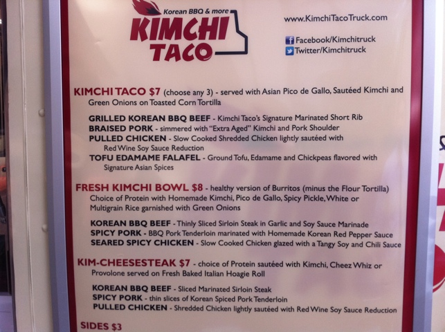 The Korean Taco Craze Continues This Time At Kimchi