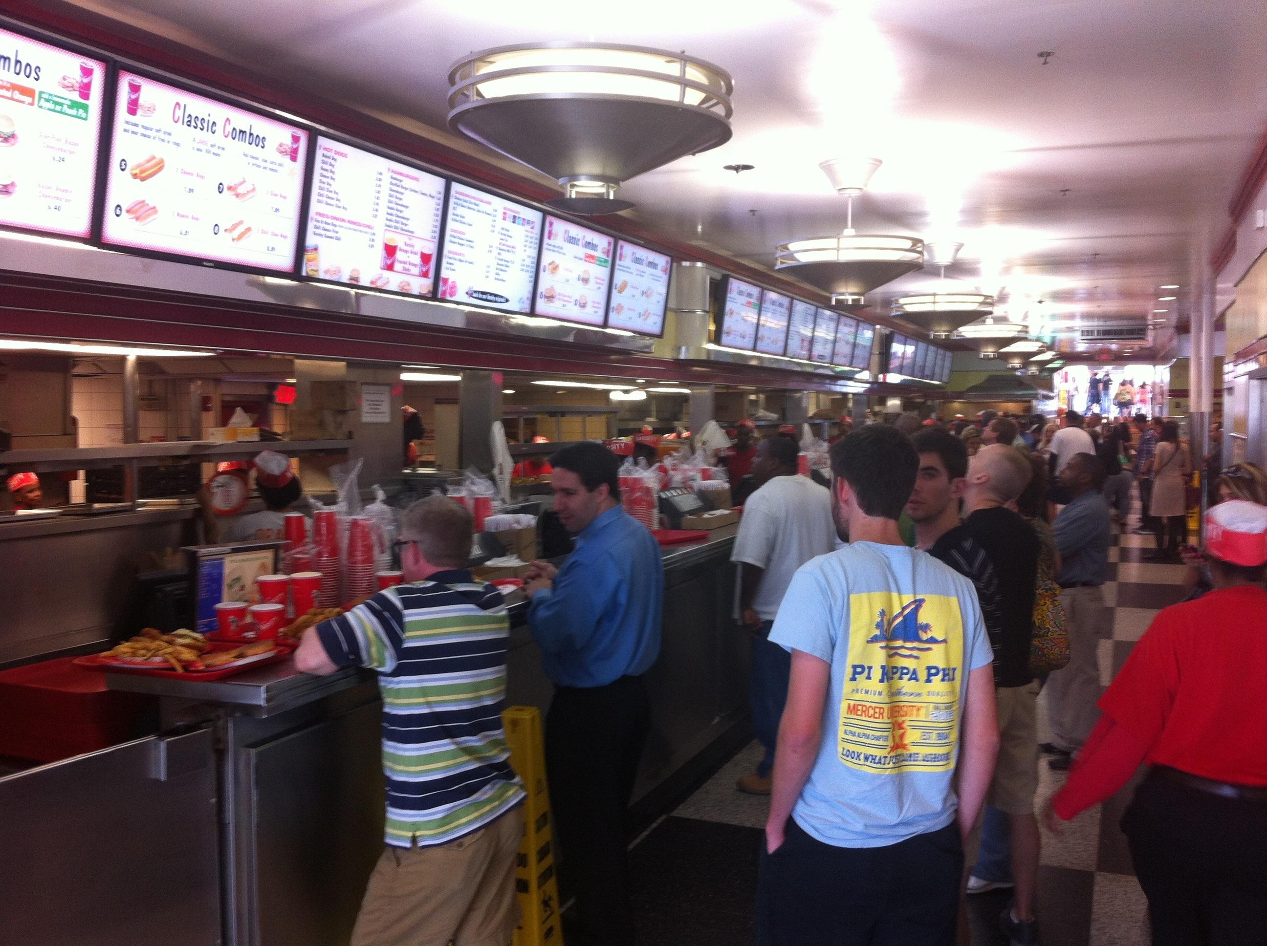 Surf Burgers >> Me Like EAtlanta: The Varsity   ME LIKE EAT